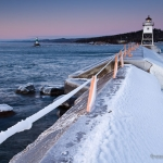 Grand Marais Lighthouse - Winter