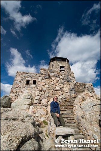 Steve and Harney Peak