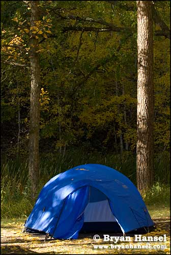 Fall Color and Tents