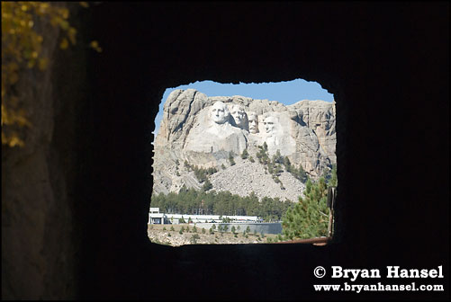 Mt. Rushmore from the Iron Mnt. Road