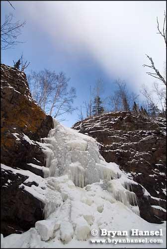 Frozen Fall River