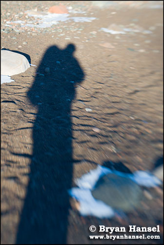Backpacker's Shadow
