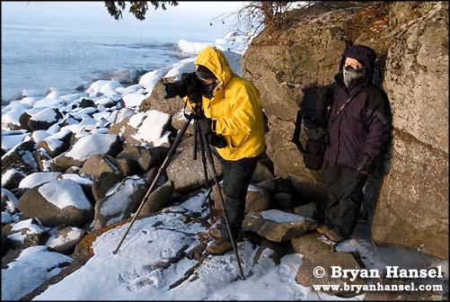 Photographers in the Cold