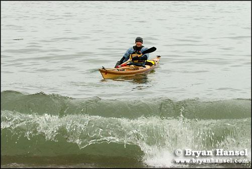 Waves, Kayak, Landing