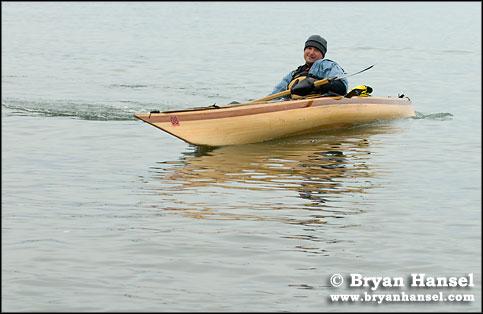Kayak lean
