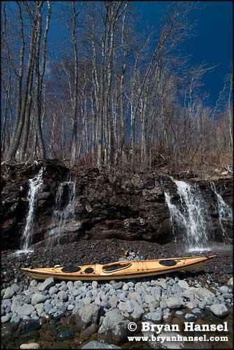 Waterfalls and Kayak