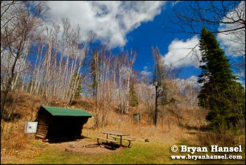 Cascade River Backpacking Shelter