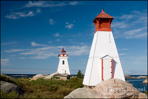 Bustard Rocks Lighthouses