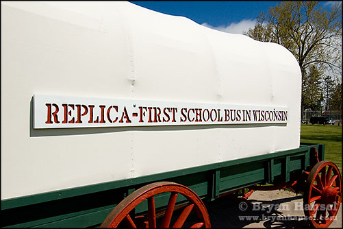First Wisconsin School Bus