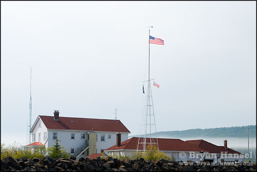 Grand Marais Coast Guard Building