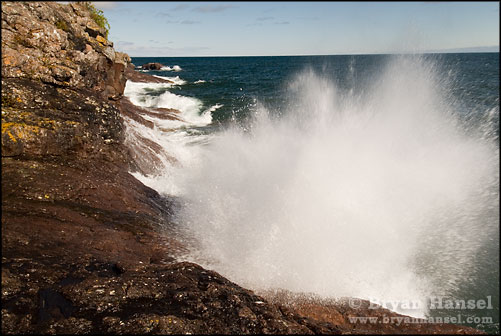 Exploding Waves at Sugarloaf Cove