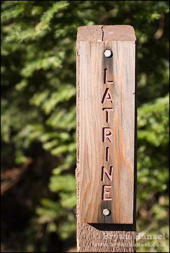 Latrine Sign