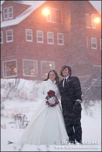 Wedding in a Blizzard