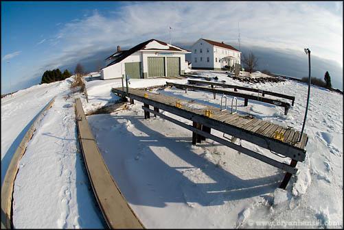 North Superior Coast Guard Station in Grand Marais