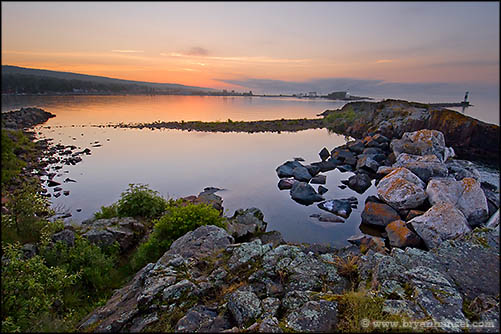 Grand Marais Harbor Sunrise