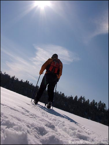 Skiing the BWCA
