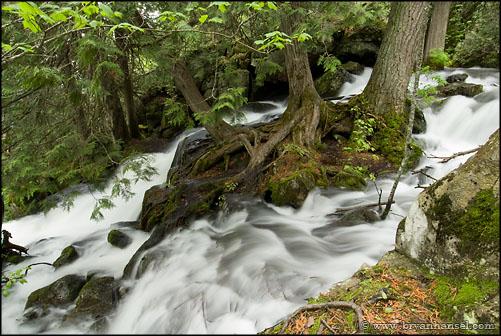 Stairway Portage Waterfall