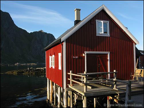 Rorbu in Lofoton Norway