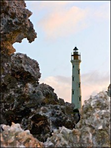 California Lighthouse, Aruba, viewed from the north.
