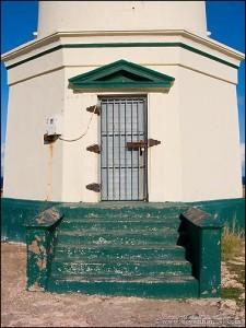 Door detail. California Lighthouse, Aruba