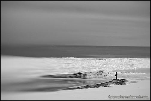 090207-1 Shore ice at Lutsen Resort in Winter