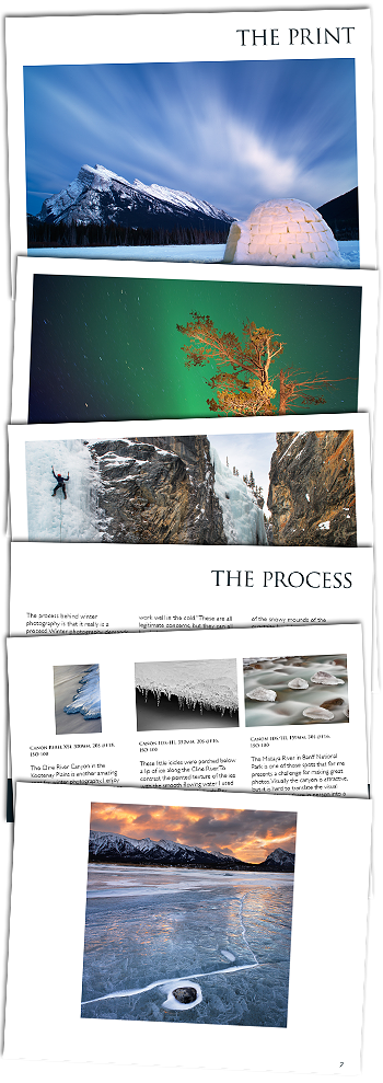 Winter photography ebook