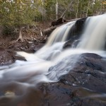 Fall River waterfalls in Minnesota.