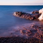 Long exposure on Lake Superior.
