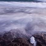 Four-to-six-foot waves wash ashore at 121. Lake Superior, MN.