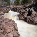 Temperance River waterfall