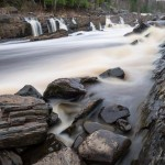 Rapids on the St. Louis River. Jay Cooke State Park, Minnesota.