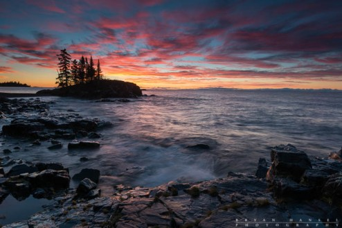 lake superior photography workshop location for sunrise