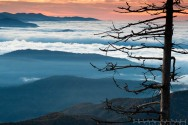 picture of my Smoky Mountain photography workshop sunrise