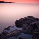 Sunrise from Artist's Point, Grand Marais, Cook County, MN