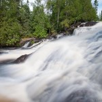 Thompson Falls near Grand Marais
