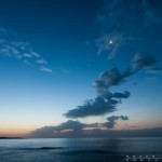 The stars at dawn