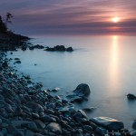 Cobblestone Beach sunrise