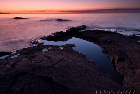 artist's point sunrise