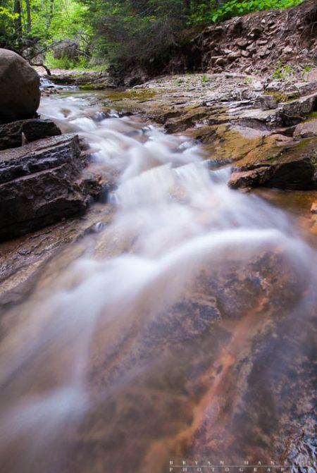A small drop on Cliff Creek, Minnesota.