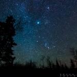 Minnesota's night sky