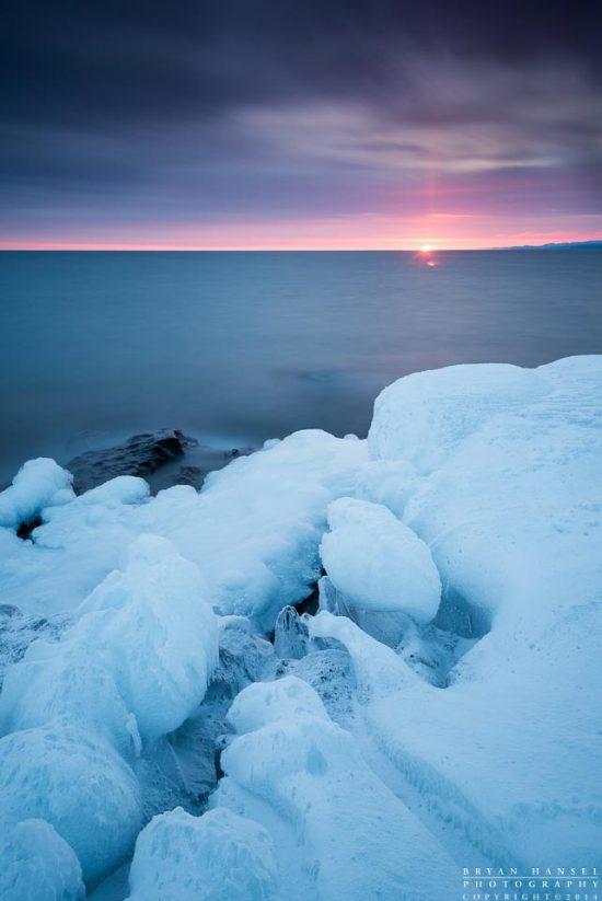 Winter Sun Pillar