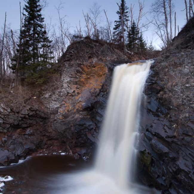 Spring Waterfall Photography Workshop on Lake Superior