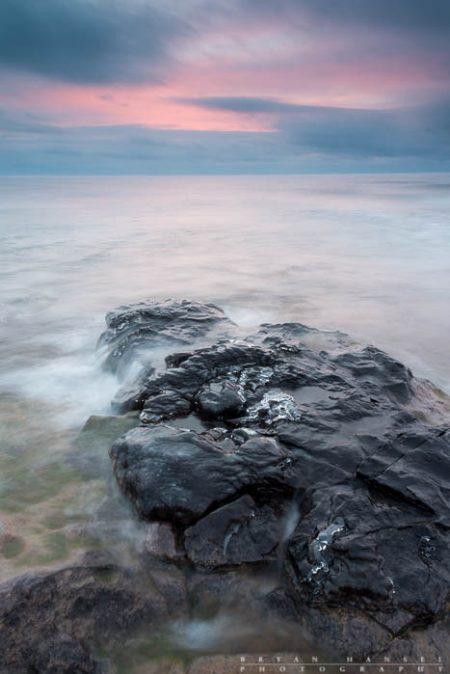 Winter Sunrise on Lake Superior