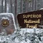 Superior National Forest sign