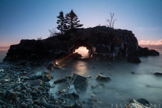 Hollow Rock Sunrise