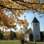 fall color at Maple Hill Church
