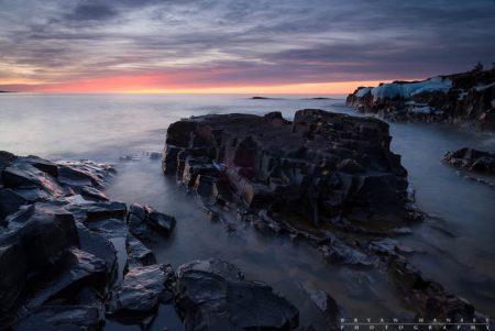sunrise over Artist's Point