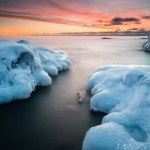 picture from a winter lake superior photography workshop