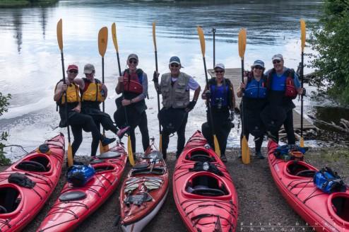 kayak photography workshop