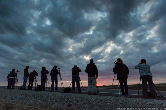 photo workshop group in Iowa